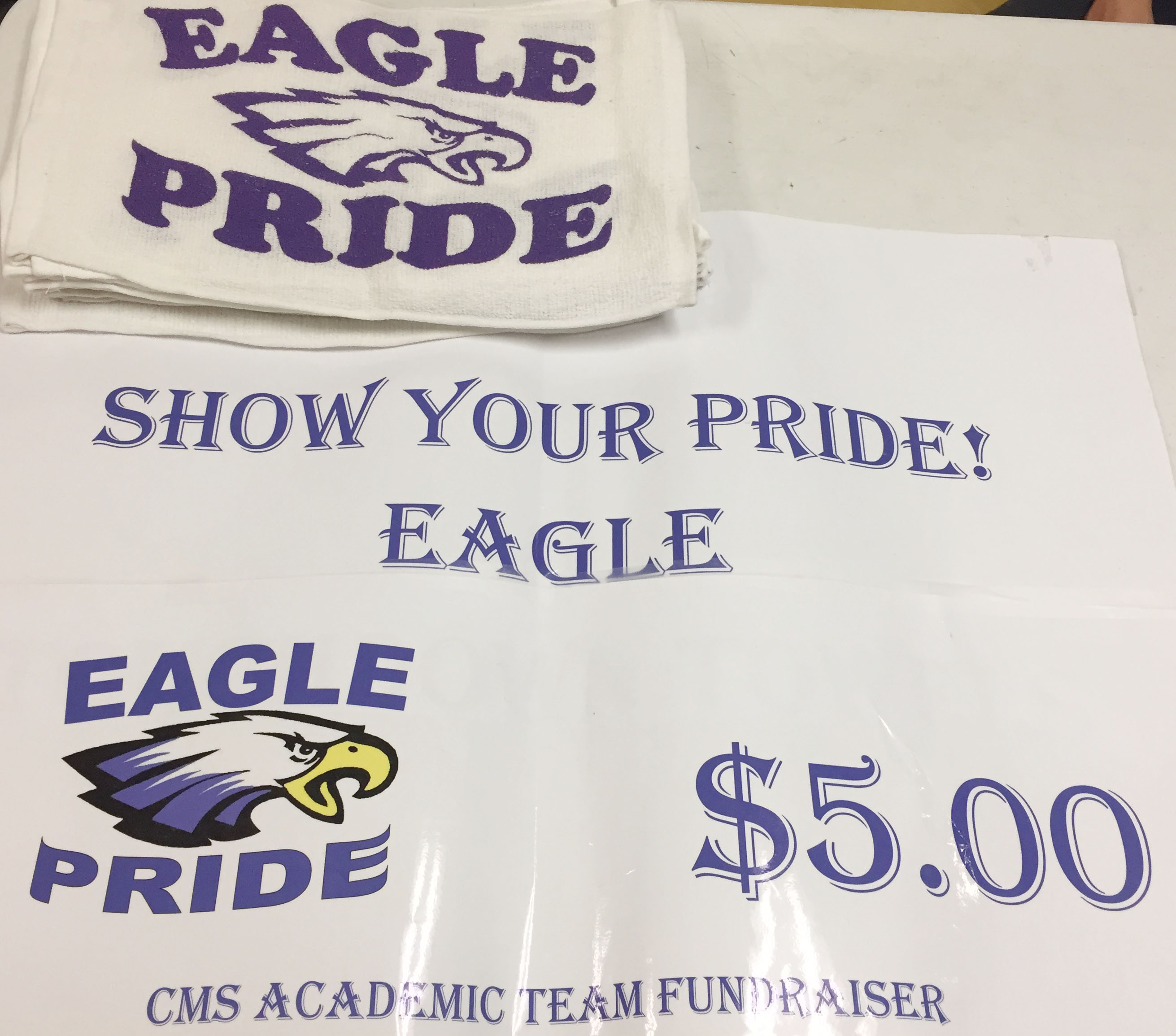 Campbellsville Middle School academic team is selling towels as a fundraiser.