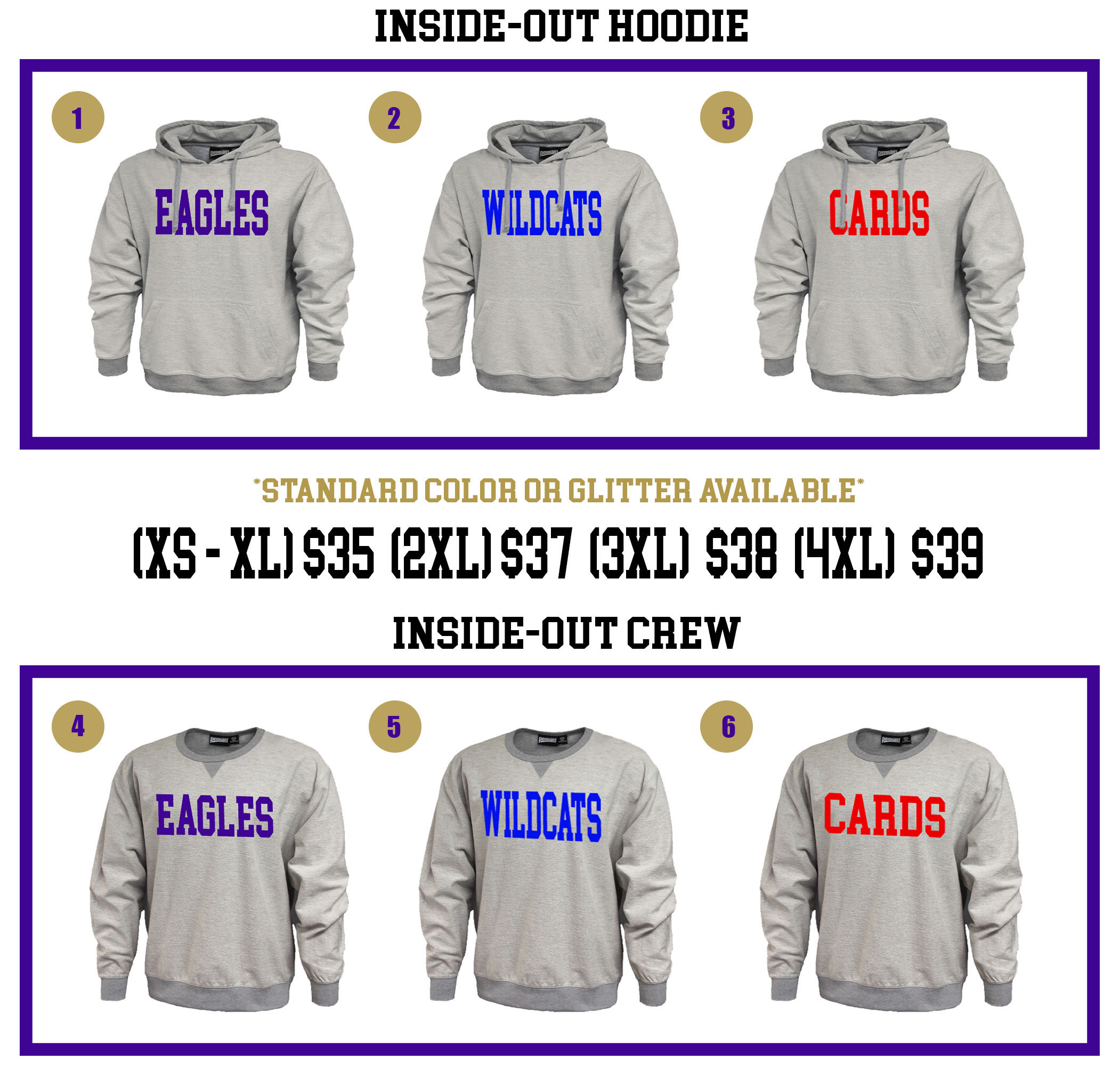 CMS Beta Sweatshirts