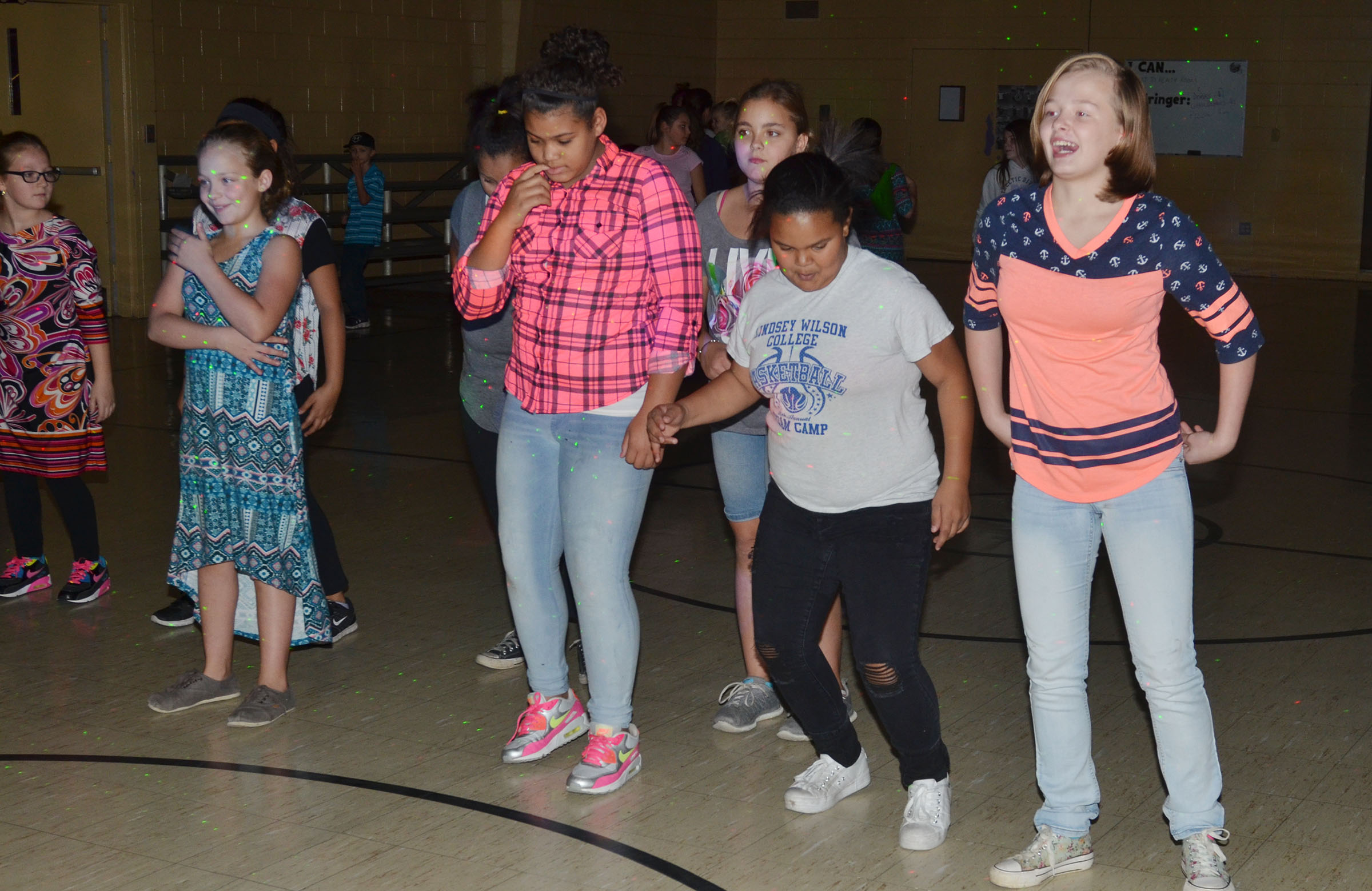CMS students dance.