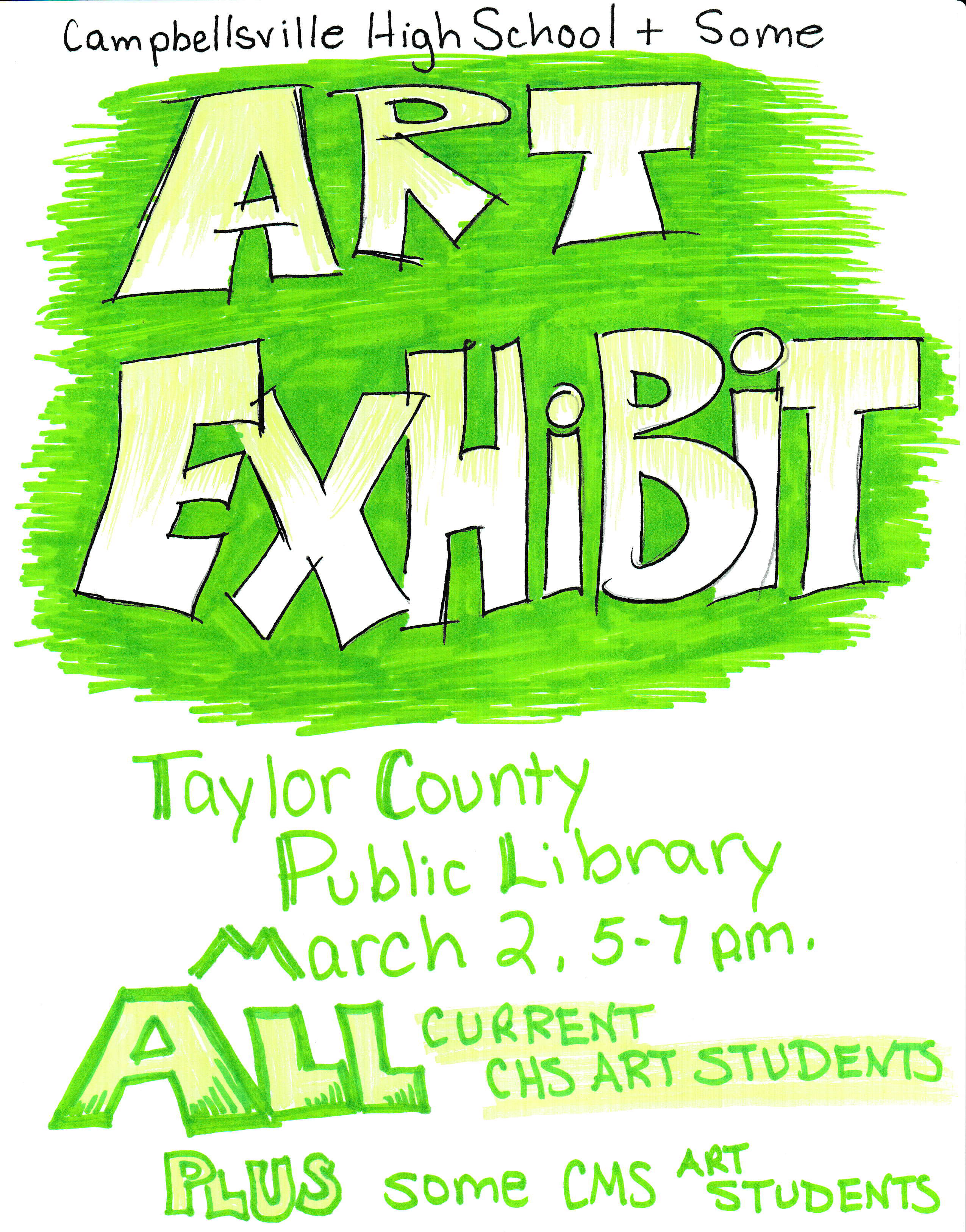 CMS CHS Art Exhibit